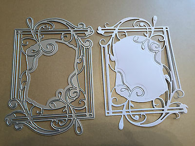 Tonic Flora Frame/topper Cutting & Embossing Die Lot 2 New Low Price!!