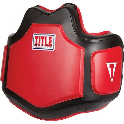 Title Boxing Body Protector Rib Ab Belly Pad
