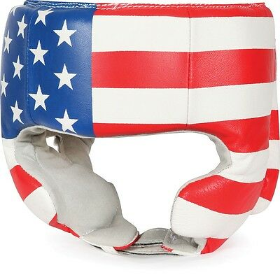 Title Competition Boxing Headgear with Cheeks - USA