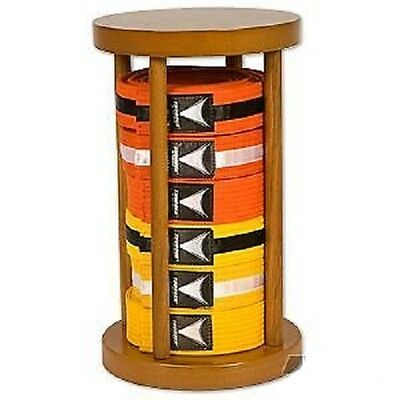 Round Karate Belt Display Standing Rack - 6 Level