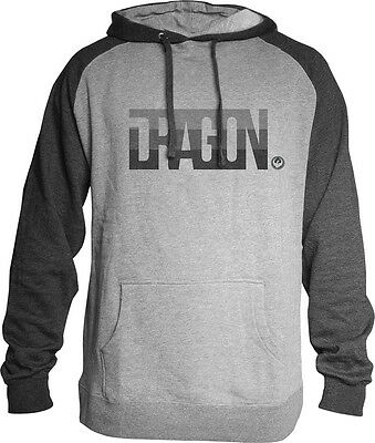 Dragon Firm Hoodie Charcoal Heather X
