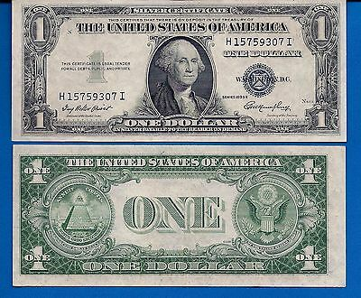 United States $1.00 Series 1935 Silver Certificate XF+