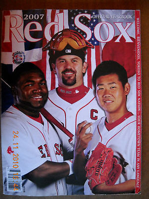 Boston Red Sox 2007 Official Yearbook