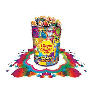 1000 CHUPA CHUPS Lollipops Mega Tin Assorted Candy Sweets Lollies New