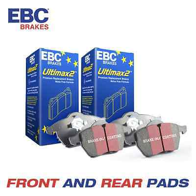 AUDI A4 EBC OE Spec Front and Rear Brake Pads 2.0 TD 2004-2008