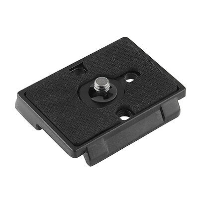 """Quick Release Plate Replacement for Bogen 3157N Manfrotto 1/4"""" Screw Metal NEW"""