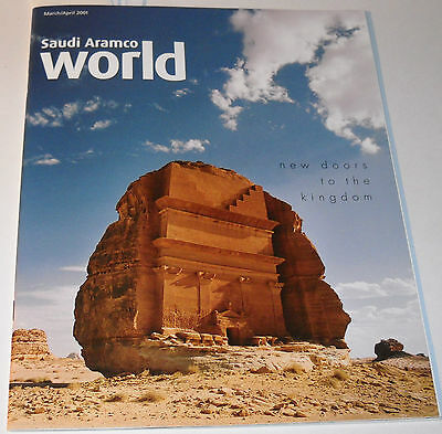 Saudi Aramco World Magazine Vol 52 No2 March/April 2001 New Doors To The Kingdom