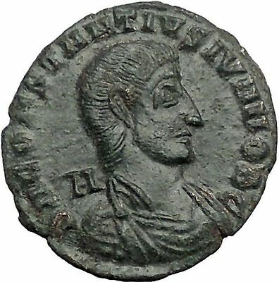 Constantius Gallus 351AD Authentic Ancient Roman Coin Battle Horse man  i55424