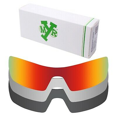 2c8d6e5e2c9b Mryok POLARIZED Replacement Lenses for-Oakley Oil Rig Red / Silver / Black