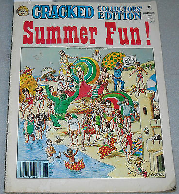 Cracked Collectors' Edition Comic Summer Fun! November 1980 Major Magazine