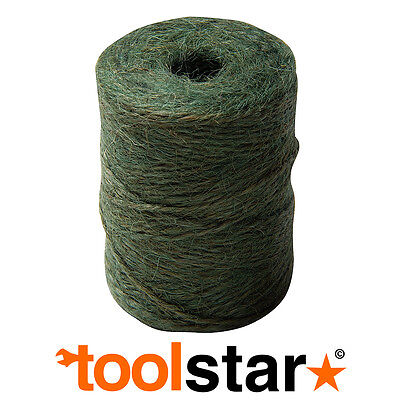 100M Classic Natural Twine Jute Garden String - Plant Tie Support Seed Sowing