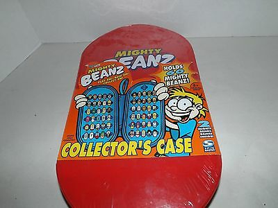 New Marvel Mighty Beanz Collectors Case Holds 60 Beans (sealed)