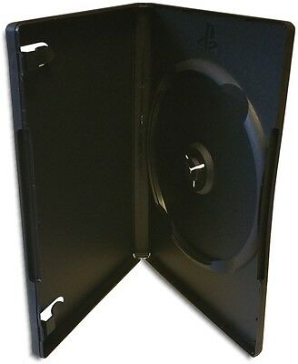Single Sony PS2 14mm Black Game Case with Playstation Logo 50-Pak