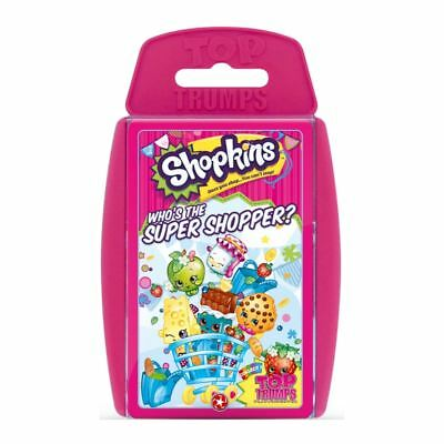 Top Trumps Shopkins Card Game New & Sealed