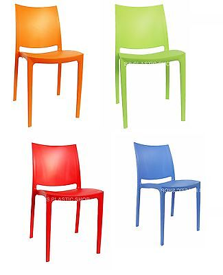 Plastic Garden Outdoor Party Patio Armless Chairs Olympus Chair Kids Seat HK-415
