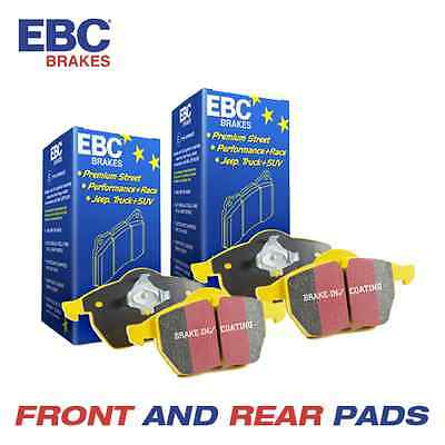 MAZDA 6 EBC Yellowstuff Front and Rear Brake Pads 2.2 TD (GJ) 2012-