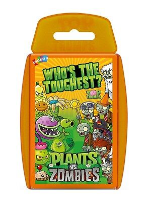 Top Trumps Plants Vs Zombies Card Game Brand New