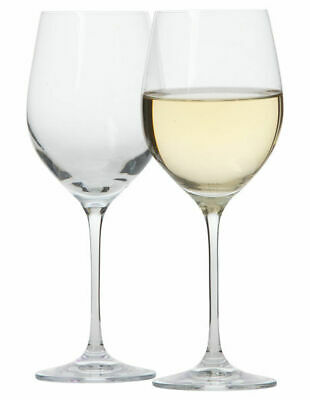 NEW Krosno 'Vinoteca' White Wine Glass 370ml Set of 6