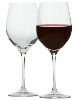 NEW Krosno 'Vinoteca' Red Wine Glass Set of 6 White