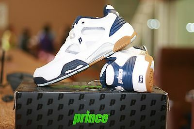 NEW PRINCE Racquetball Shoes NFS Attack Low  White  Blue Color size US Mens 13