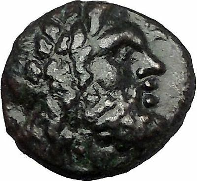 PHILIP V King of Macedonia 212BC Zeus Athena Authentic Ancient Greek Coin i55450