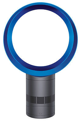 NEW Dyson AM06 Desk Fan: 301203-01 Iron/Blue