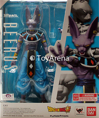 S.H. SH Figuarts Beerus Dragon Ball Z Kai Super Action Figure IN STOCK USA