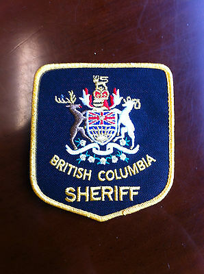 Obsolete British Columbia Sheriff Shoulder Patch