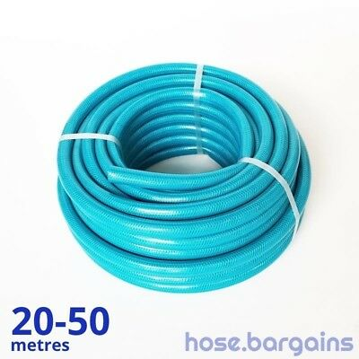 "Anti Kink Knitted Garden Hose 12mm - Reinforced UV Protected 1/2"" Water Hose"