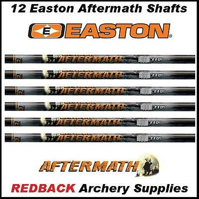 EASTON Aftermath Carbon Arrow Shafts 340 Spine with Nocks and Inserts 1 DZ
