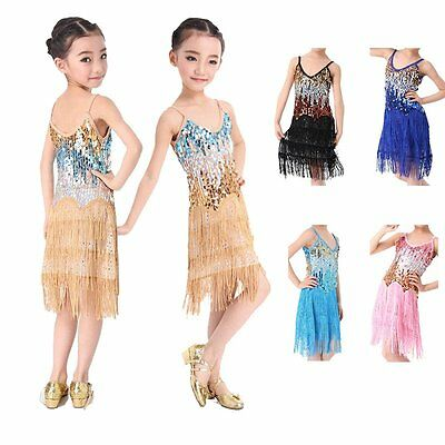 Child Flapper Fancy Dress Costume Girls Moll 1920's Outfit Gatsby Gangster