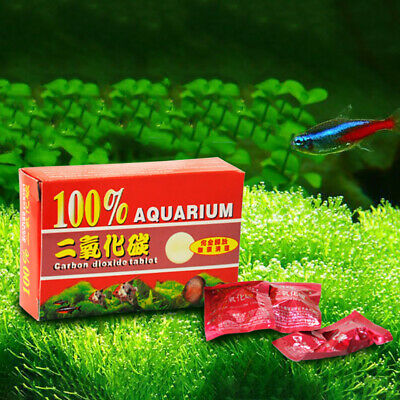CO2 Plants Tablet Plant Diffuser Fish Tank For Carbon Dioxide Aquarium 80Pcs
