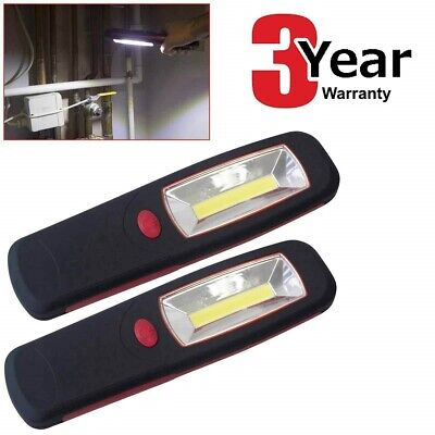 2 x 5W ULTRABRIGHT 350 LUMEN COB LED WORKLIGHT INSPECTION LAMP WORK LIGHT TORCH