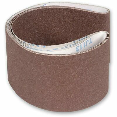 Mixed Pack of Sanding Belts 100 x 915mm