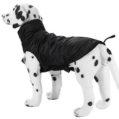 Dog Outdoor Winter Waterproof Rain Coat Jacket Fleece Hoodie Costume Clothes New