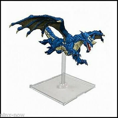 D&D Young Blue Dragon Miniature Attack Wing Expansion Pack Painted Wizkids