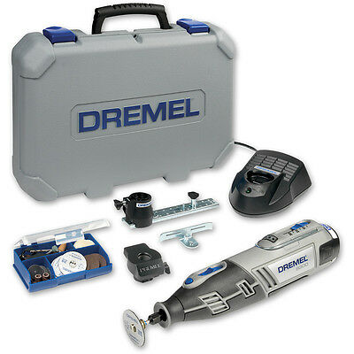 Dremel 8200 2/45 Cordless Multi-Tool with 45 Accessories 10.8V (1.3Ah)