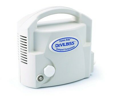 NEW Devilbiss Pulmo-Aide® Compact Compressor Nebulizer System With Nebulizer Kit
