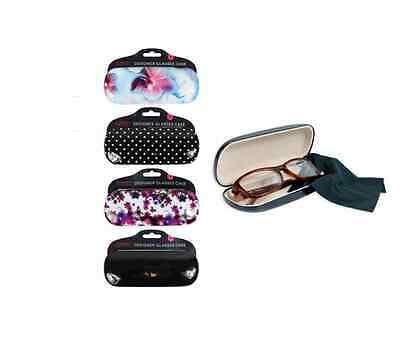 Glamour Essentials Designer Hard Glasses Case for Ladies High Protection
