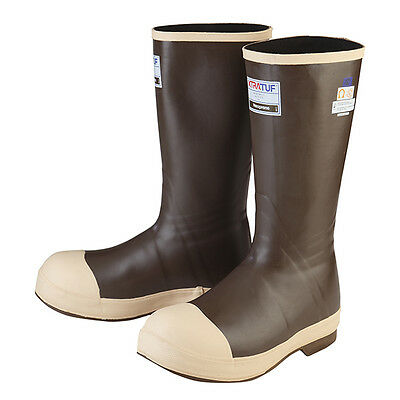 """XtraTuf Legacy 15"""" Insulated Tan Neoprene Steel Toe Safety Boots, 22273G"""
