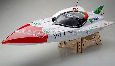 Exceed Gas Powered Fiberglass V24 GHB 1300 GS260 OFFSHORE Racing Speed Boat KIT
