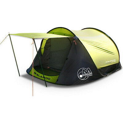 Malamoo Extra Fast Frame 3 Man / Person - 3 Second Pop Up Tent