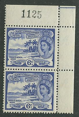 St. Christopher Nevis & Anguilla #126 Mint Pair