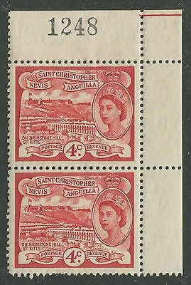 St. Christopher Nevis & Anguilla #124 Mint Pair