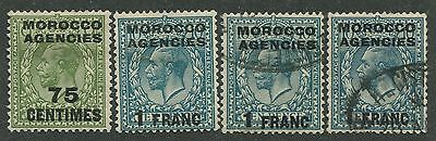 Morocco Agencies Mint & Used Stamps