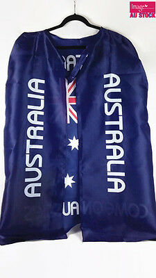 Australian Flag Cape Aussie Flag Fancy Dress Costume Party 13263