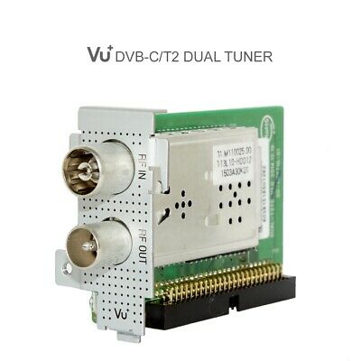 VU+ Hybrid DUAL 2x DVB-T2/T/C Tuner Solo SE V2 Uno Ultimo Duo2 4K Cable Terrest