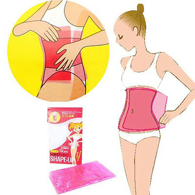 Women Body Slimming Belt Waist Stomach Sauna Wrap Cellulite Weight Loss Belt