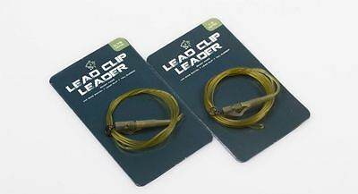 Nash D-CAM Leader With Uni Ring Swivel Lead Clip & Tail Rubber NEW