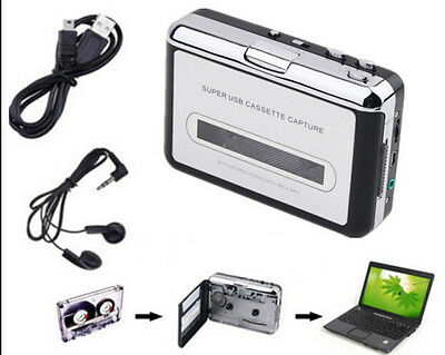 Cassette Walkman MP3 Converter Tape to USB Flash Drive Audio Capture Player